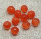 Cats Eye, 10 mm, Orange